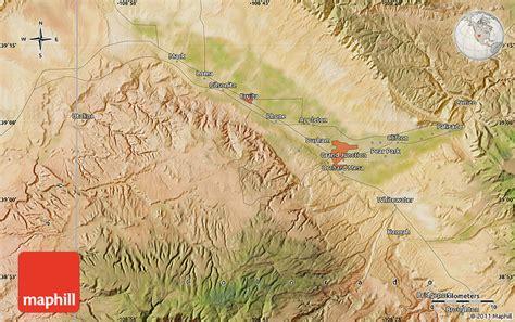 satellite map of colorado satellite map of grand junction