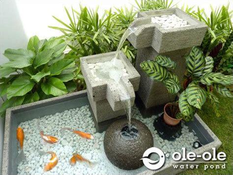 Hiasan Aquarium Pohon Mini water ponds design malaysia kolam ikan hiasan johor fen koi ponds and water features