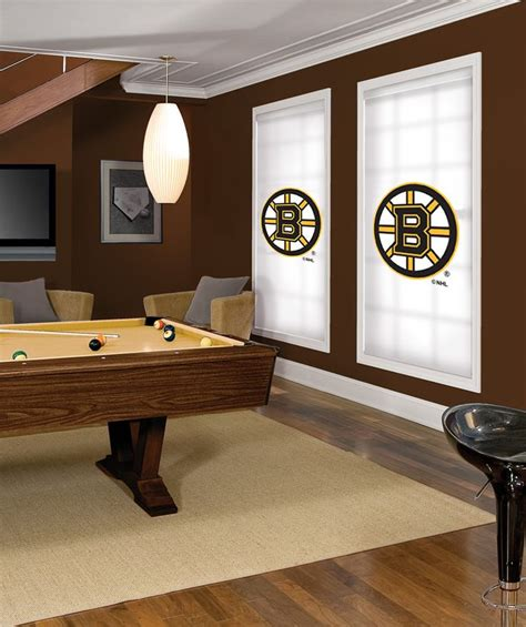 boston bruins bedroom boston bruins nhl 174 roller shade every nhl 174 team available