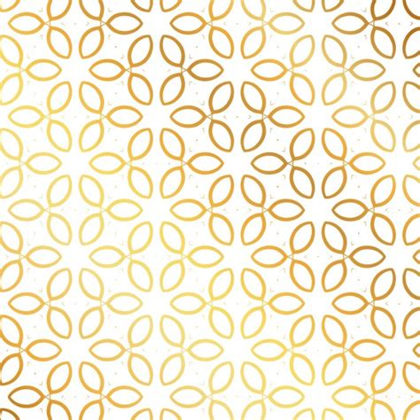patterns free to download pattern with golden leaves vector free download