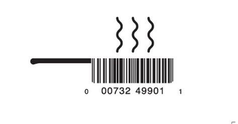 Panci Gelas desain barcode unik kreatif vanitybarcodes barcode seperti gelas panci desain barcode keren