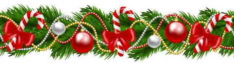 christmas garland clipart happy holidays