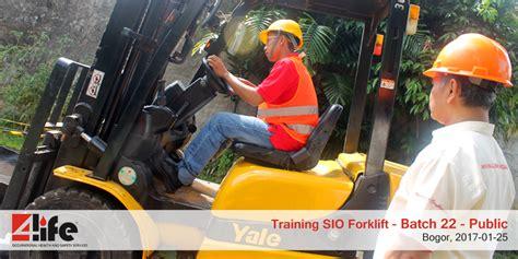 cara membuat sio forklift training sio forklift di bogor public batch 22 sio
