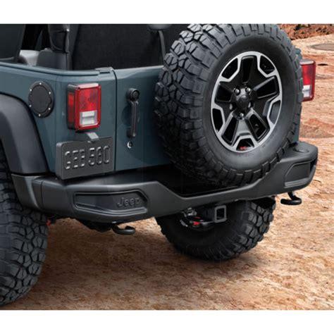 Mopar Jeep Wrangler Accessories Mopar Accessories 82213654 Rear Road Bumper 2007 14