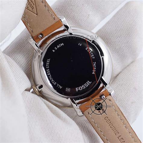 Fossil Brown Leather Bq2165 Jam Fossil Original harga sarap jam tangan fossil jacqueline es3737 brown