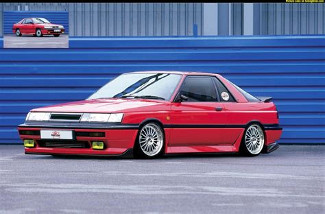 nissan sunny 1990 tuning view of nissan sunny coupe photos video features and