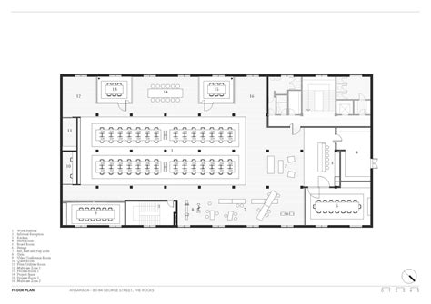 the office us floor plan gallery of ansarada those architects 20