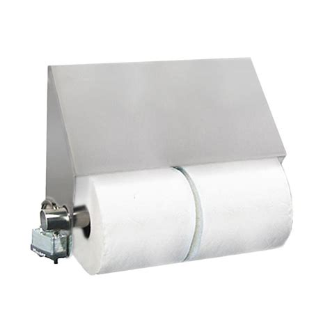 best toilet paper holder stainless solutions double post slant top toilet paper