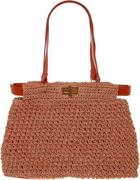 Warehouse Patent Twist Lock Shopper by Trendy Summer Straw Tote Bags Popsugar Fashion Uk