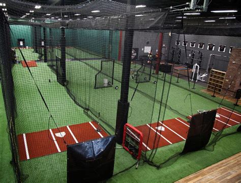 how to build a batting cage in your backyard indoor batting cages for baseball softball on deck sports