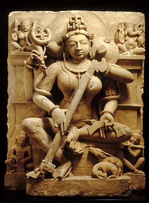 indian temple sculpture books file indian sarasvati walters 2550 jpg wikimedia commons