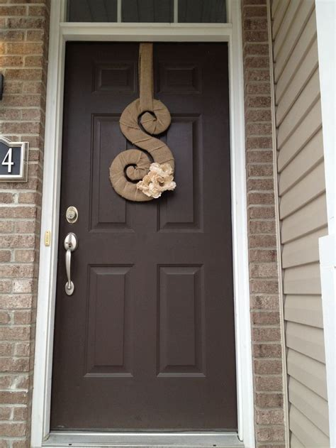 dark brown front door 25 best ideas about front door letters on pinterest