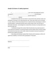 Waiver Agreement Template by The World S Catalog Of Ideas