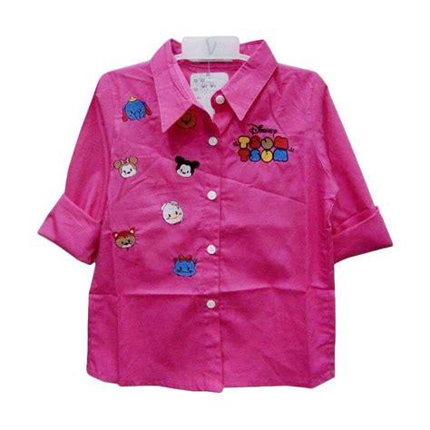 Baju Atasan Pink jual import kid tsumtsum baju atasan perempuan pink