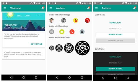 layout animation android react native react native material ui npm