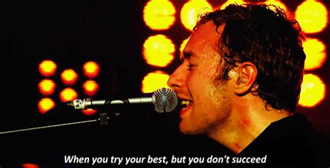 coldplay when you try your best fix you coldplay tumblr