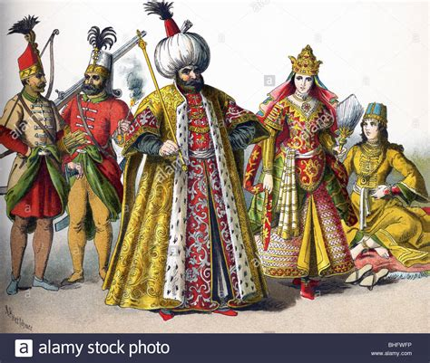 Ottoman Empire 1500 by These Ottoman Empire Figures In 1500 Represent A Guard A