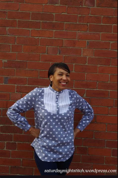 Happy Words Blouse 42374 pauline carme blouse saturday stitch