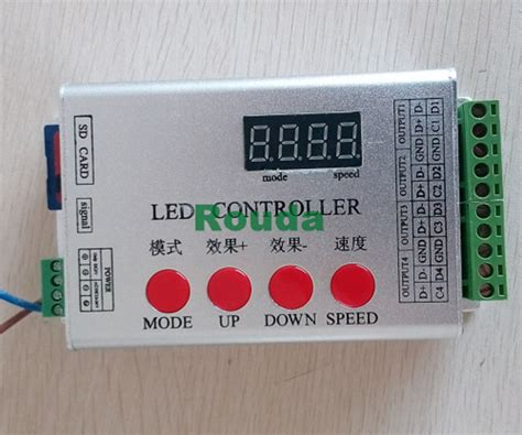 Controller Pixel Rgb Programmable Led With Sd Card And Software programmable rgb led controller w sd card led pixel controller ws2801 ws2811 lpd6803 lpd8806
