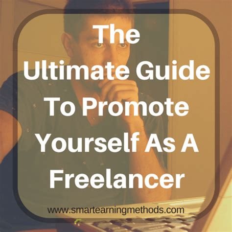 the a z guide for promoting your self published book books the ultimate guide to promote yourself as a freelancer
