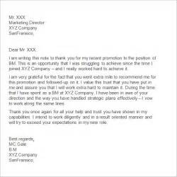 Thank You Letter To Wonderful Boss Sample Thank You Letter To Boss 11 Free Documents