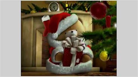 imagenes de santa claus rasta animaci 211 n de osito santa claus video con mensaje quot la feliz