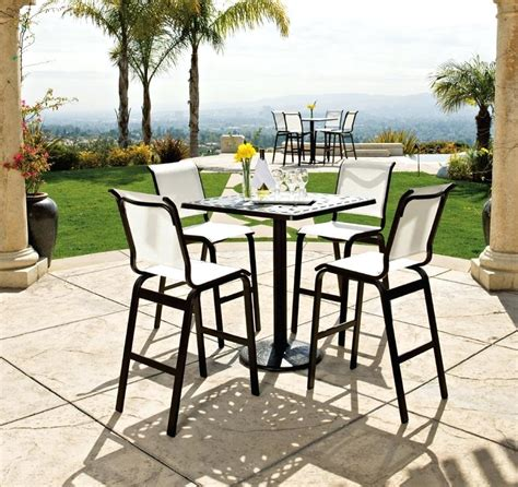 5 piece bar height outdoor dining set ? enzobrera.com