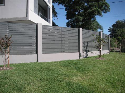 Concrete Loft central coast aluminium fencing and aluminium fencing
