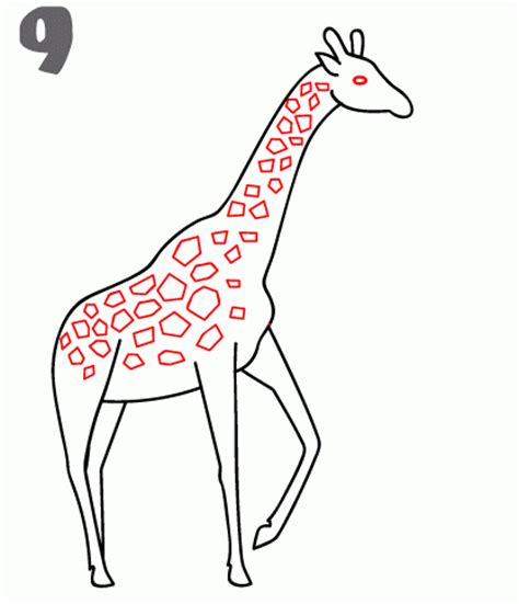 how to draw a giraffe doodle how to draw a giraffe step by step