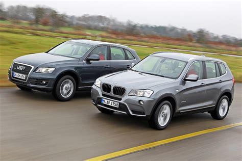 Vergleich Audi Q5 Bmw X3 by Suv Vergleich Bmw X3 Gegen Audi Q5 Bilder Autobild De
