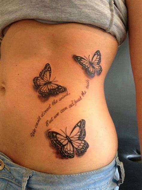 butterfly tattoo with quote 100 cute and small tattoos that will make you want one