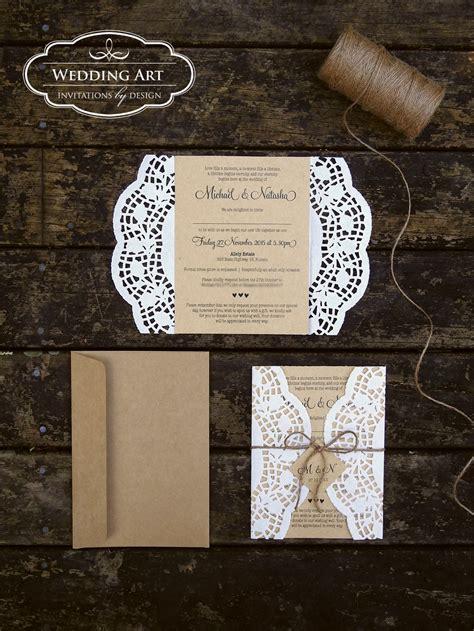 twine wedding invitations sydney gorgeous rustic wedding invitations printed on kraft card