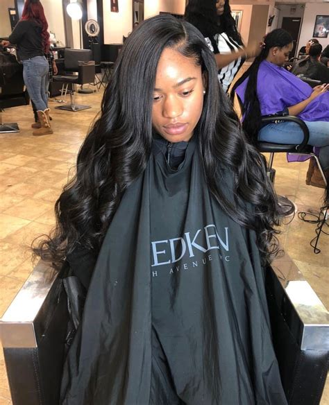 sew ins with color sew in weave hairstyle with color just this color