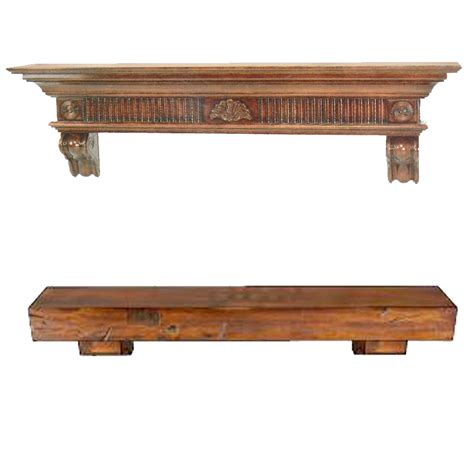 Wood Mantel Shelf by Fireplace Mantels Fireplace Shelves Wood Mantel