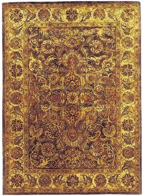 Yellow And Brown Area Rugs Golden Jaipur Brown Yellow Area Rug Gj273b Traditional Rugs By Zopalo