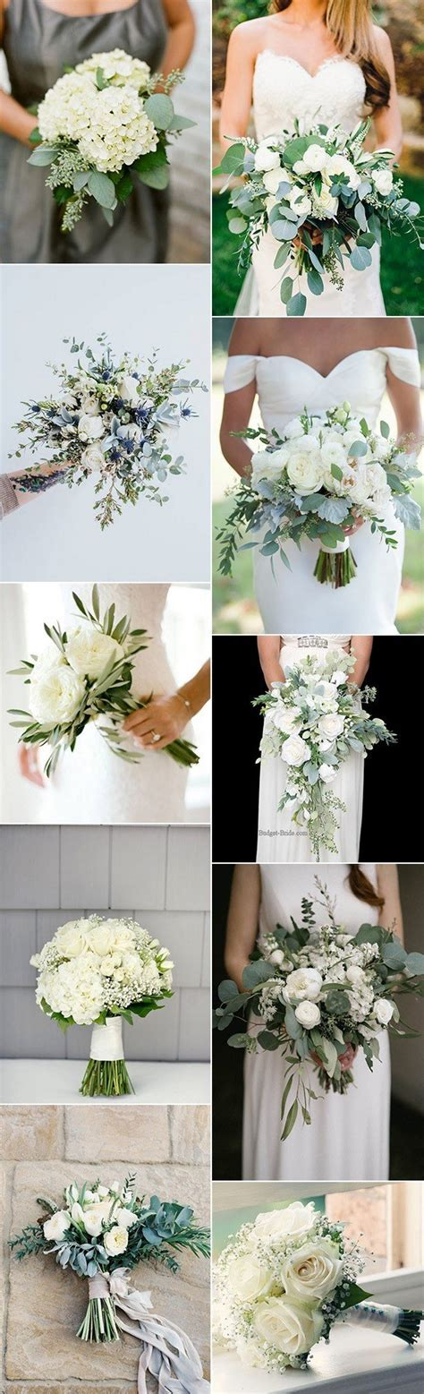 Top 10 White and Green Wedding Bouquet Ideas You?ll Love