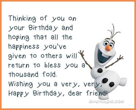 Happy Birthday Dear Friend Quotes 25 Best Ideas About Happy Birthday Dear Friend On