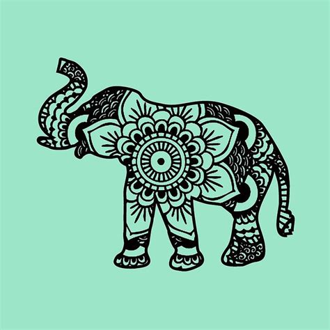 henna elephant tattoos best 25 mandala elephant ideas on mandala