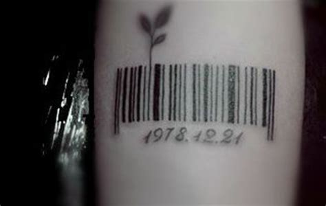 barcode tattoo date top 10 barcode tattoo designs
