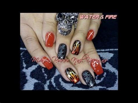 monica russo nail designs nail art by monica russo nail designs youtube