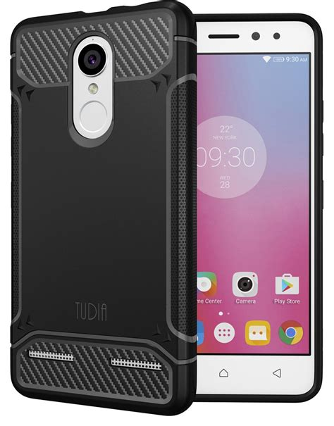 Lenovo K6 Note Cover Tempered Glass Colour Warna Hitam Putih tudia back cover for lenovo k6 power tudia flipkart