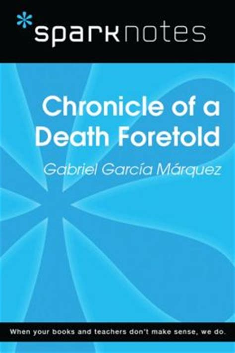gratis libro e chronicle of a death foretold para leer ahora chronicle of a death foretold sparknotes literature guide by sparknotes 9781411474444 nook
