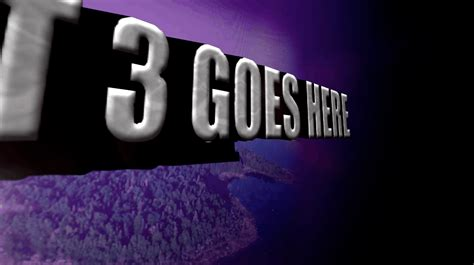 After Effects 3d Text Animation Church After Effects Templates