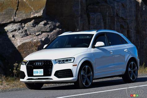 Audi Q3 Review 2016 by 2016 Audi Q3 Quattro Technik Review Car Reviews Auto123