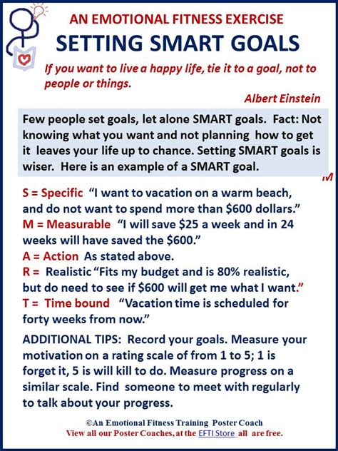 smart goals move you forward emotional fitness tips students special education