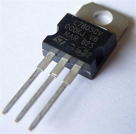 7805 voltage regulator schematic 7805 get free image