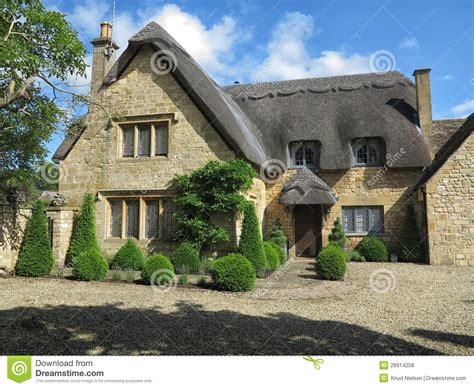 chipping cden cottages chipping camden cottage royalty free stock photos image