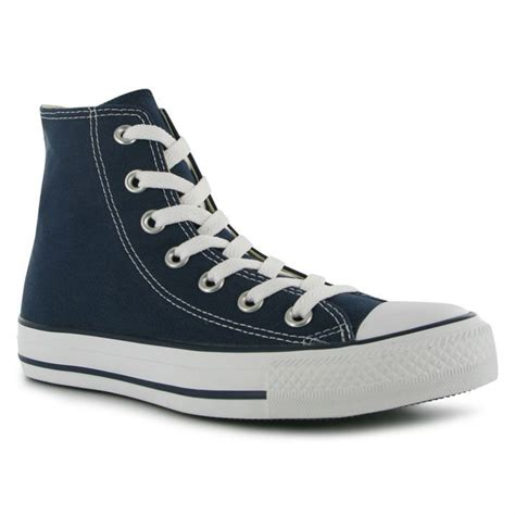 how to bar lace converse high tops converse mens all stars hi top trainers canvas lace up shoes high tops ebay