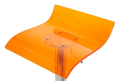 taburetes naranjas taburete naranja transparente leroy merlin