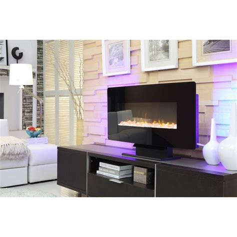 Fireplace Brookline by Hton Bay Brookline 36 In Wall Mount Electric Fireplace